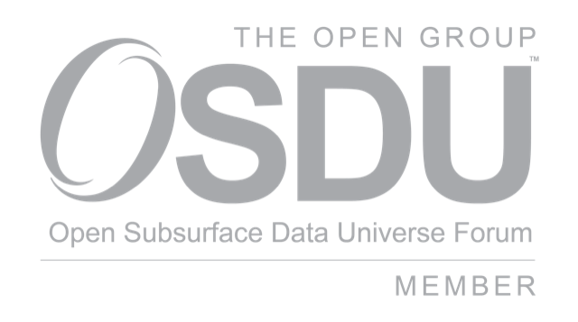Open Subsurface Data Universe Forum Member of The Open Group*